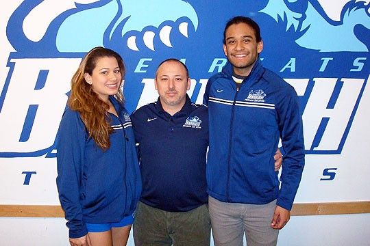 Baruch Swimming Wins Five Major CUNYAC Awards, 20 Total All-Stars