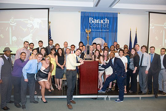 Baruch Athletics Honors Student Athletes at 39th Annual Varsity Awards Dinner