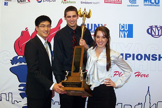 4 Student-Athletes Honored at CUNYAC Scholar Athlete Dinner