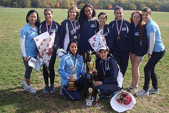 Baruch Women's Cross Country Team