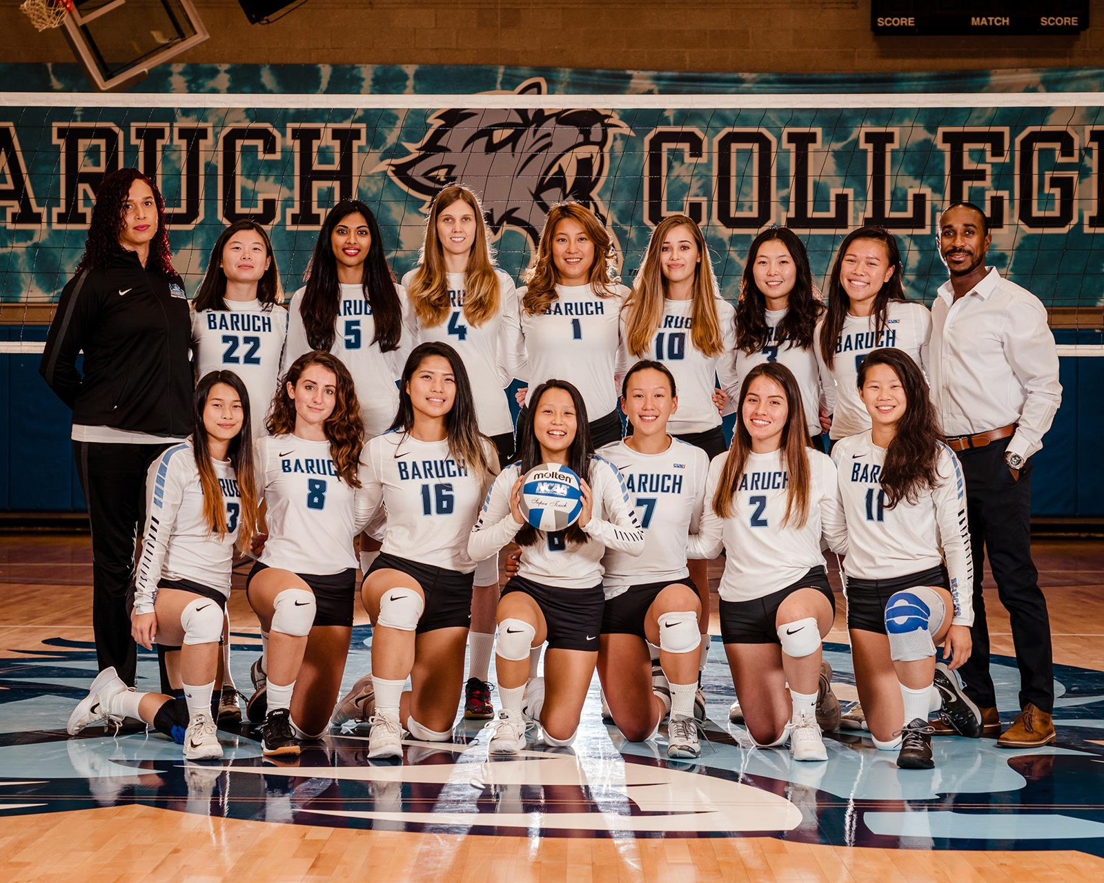 2019 Women S Volleyball Roster Baruch College Athletics